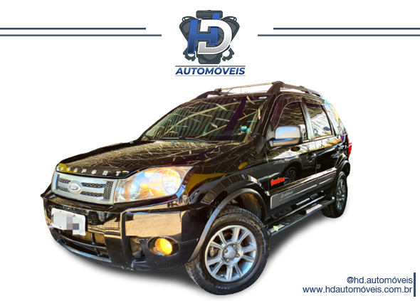 Ford EcoSport XLT FreeStyle 1.6 2011 Flex
