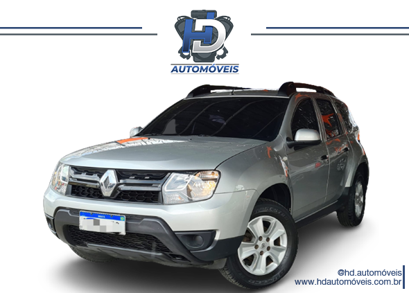 Duster 1.6 2017 com  GNV